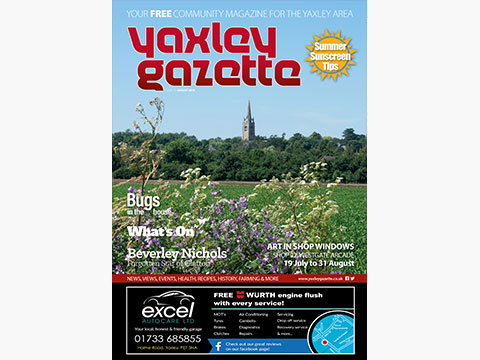 Yaxley Gazette August 2018 cover