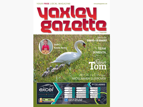 Yaxley Gazette August 2020 cover