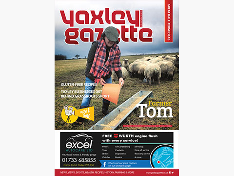 Yaxley Gazette February 2018 cover