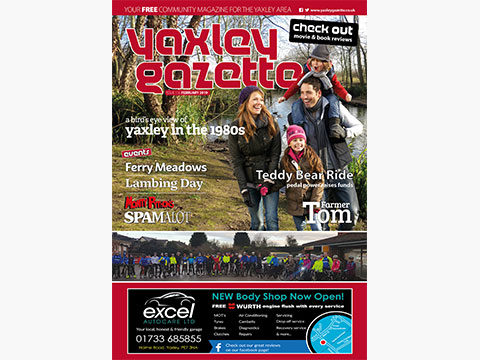 Yaxley Gazette February 2019 cover
