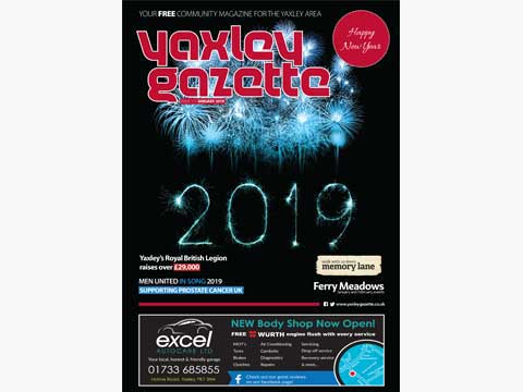 Yaxley Gazette January 2019 cover