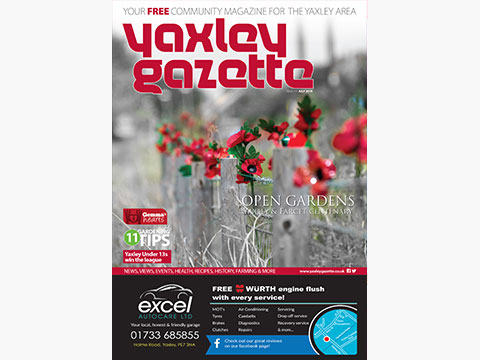 Yaxley Gazette July 2018 cover