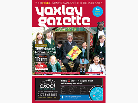 Yaxley Gazette June 2018 cover