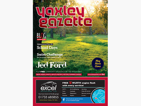 Yaxley Gazette May 2018 cover