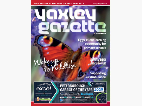Yaxley Gazette May 2021 cover