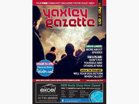 Yaxley Gazette November 2018 cover
