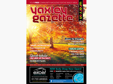 Yaxley Gazette October 2018 cover