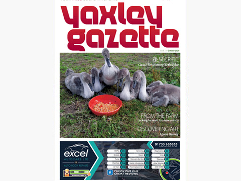 Yaxley Gazette October 2020 cover