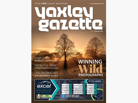 Yaxley Gazette September 2020 cover