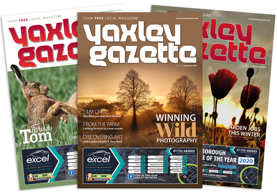 Yaxley Gazette three issues